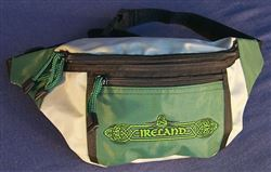 Ireland hip bag, adjustable, embroidered
