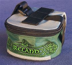 Ireland saddle bag, small, embroidered logo