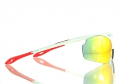 Apache RX Prescription Sunglasses Dolce Vita White Red