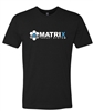 MATRIX TARGETS LOGO BLACK T SHIRT