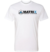 MATRIX TARGETS LOGO WHITE T SHIRT
