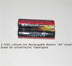 14500 Battery - Lithium-Ion - Rechargeable- 3.7vDC-2PK