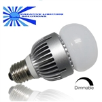 Dimmable LED Light Bulb-10 Watts, Day White, 120VAC