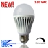 LED Light Bulb - 7 Watts, Warm White Dimmable, 120-VAC