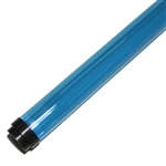 Fluorescent Tube Colored Safety Sleeve and Guard.  An inexpensive way to color your life!