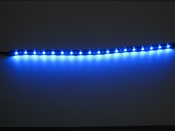 LED Flex Ribbon Strips - 12vdc, Water Resistant - 12 Inch strip with Quick Connector Set!