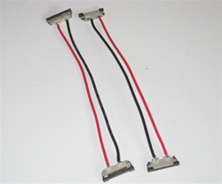 Flexible LED Strip Solderless Jumper Connector (2 wire) - Single Color Ribbon - 1 piece/ea