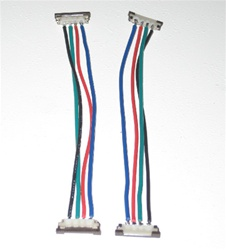 RGB Flexible LED Strip Solderless Jumper Connector (2 wire) - Single Color Ribbon