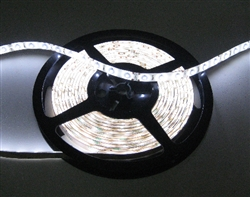 Pure White Water Resistant LED Flexible Ribbon Strips | LED Ribbon Tape - Low power consumption, infinite uses.  We manufacture our LED Flexible Ribbon spools and Flex Ribbon Tape to ensure a Quality product best possible price to you, our customers!