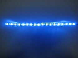 Flex LED Strip 5050- High Output - 12vDC, Waterproof, Black PCB - 12 Inch waterproof strip 9 Color Options!