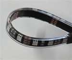 Pure White LED Flex Strips -12vdc, IP68 WP, Double Density, White, High Output - 5M Spool