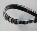 Warm White LED Flex Strips -12vdc, IP68 WP, Double Density, White, High Output - 5M Spool, 3500K