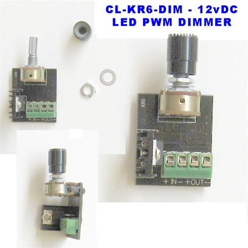 led dimmer - 12v rotary pwm led dimmer  off  6