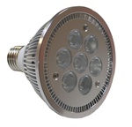 Cree(tm) XP-E LEDs 9W PAR30 Light Bulb, Dimmable, Warm White - 120VAC - UL Listed!