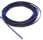 RGB Wire Jumper, 4 Conductor-Red, Green, Blue & Black, 22 Gauge, Stranded, PER FOOT