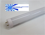 T8 LED Tube Light - 700 Lumens, 18 inch, Day White, 7 Watt, 120 LED, 90-277VAC, Frosted Lens