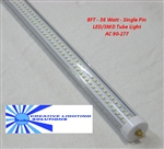 T8 LED Fluorescent Light Tube - 3400 Lumens, 36W, Commercial Quality, CE/ROHS Approved