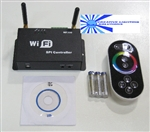 NEW! WiFi LED Digital Strip Light Controller! - 12vDC Input - Supports 10 Control ICs / 1048 Pixels!