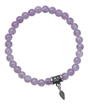 TRUST YOUR INTUITION - Cape Amethyst Healing Crystal Bracelet - zen jewelz