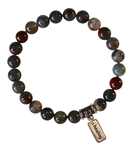 IMAGINE - Bloodstone Healing Crystal Bracelet