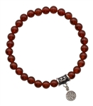 BE MOTIVATED - Carnelian Healing Crystal Bracelet - zen jewelz