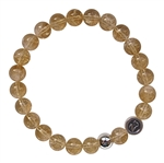 WEALTH - Citrine Healing Crystal Bracelet - zen jewelz