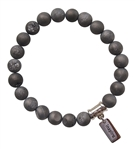 I AM JOY - Drusy Quartz Healing Crystal Bracelet - zen jewelz