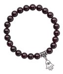 DEVOTION - Red Garnet Healing Crystal Bracelet - zen jewelz