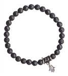 BE STRONG - Hematite Healing Crystal Bracelet - zen jewelz