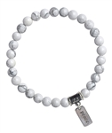 PEACEFUL SLEEP - Howlite Healing Bracelet - zen jewelz