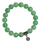 FIND HARMONY - Light Green Jade Healing Crystal Bracelet - zen jewelz