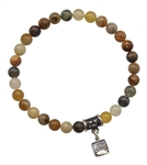 BE LUCKY - Antique Jade Healing Crystal Bracelet - zen jewelz