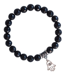 BE POSITIVE - Onyx Healing Crystal Stretch Bracelet - zen jewelz