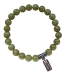 Peridot RELEASE NEGATIVE PATTERNS Crystal Bracelet - zen jewelz