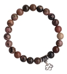 SELF LOVE - Rhodonite Healing Crystal Stretch Bracelet - zen jewelz