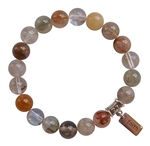 SPIRITUAL GROWTH - Rutilated Quartz Healing Gemstone Bracelet - zen jewelz