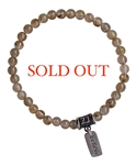 BE HAPPY - Rutilated Quartz Healing Gemstone Bracelet - zen jewelz