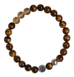 SUCCESS - Tiger Eye & Citrine Healing Gemstone Bracelet - zen jewelz