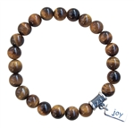 PROTECT ME - Tiger Eye Healing Crystal Stretch Bracelet - zen jewelz