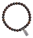GIVE ME ENERGY - Tiger Iron Healing Crystal Bracelet - zen jewelz