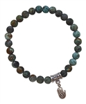 ENLIGHTENMENT - Turquoise Healing Crystal Bracelet - zen jewelz