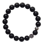 BE EMPOWERED - Black Tourmaline Healing Crystal Bracelet - zen jewelz