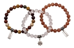 ANTI-AGING HEALING GEMSTONE BRACELET BUNDLE - zen jewelz