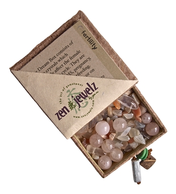 zen jewelz - DreamBox - FERTILITY Healing Crystals