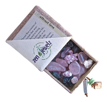 zen jewelz - DreamBox - ATTRACT LOVE Healing Crystals