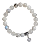 NEW BEGINNINGS - Moonstone Healing Gemstone Bracelet - zen jewelz