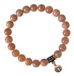 zen jewelz - JUST BREATHE - Moonstone Healing Crystal Bracelet