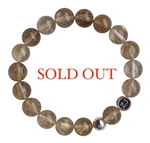 LET GO - Rutilated Quartz Healing Gemstone Bracelet - zen jewelz