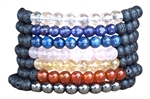 YOGA BRACELET BUNDLE - 7 Chakras - zen jewelz