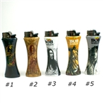 BoB Marley  Refilable Curve Bottle Opener Lighter,select your designs,